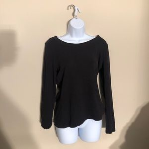 Susan Bristol Black Long Sleeve shirt